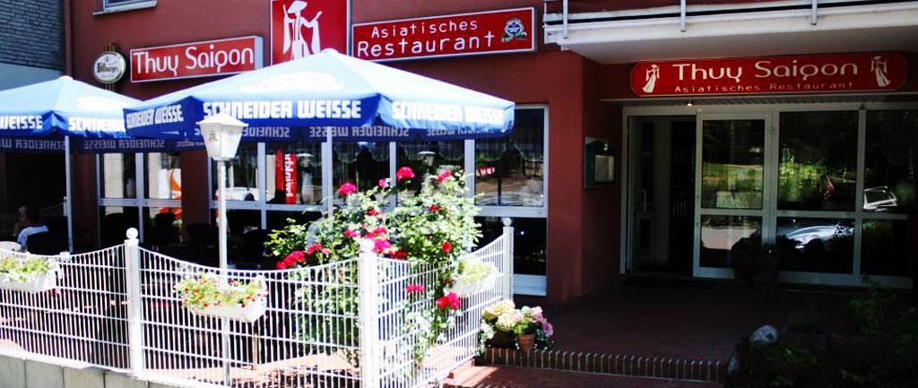 Das asiatische Restaurant Thuy Saigon in Holzhausen-Georgsmarienhütte