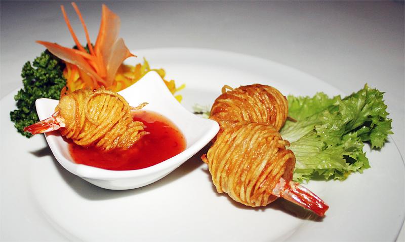 Vorspeise im Restaurant Thuy Saigon